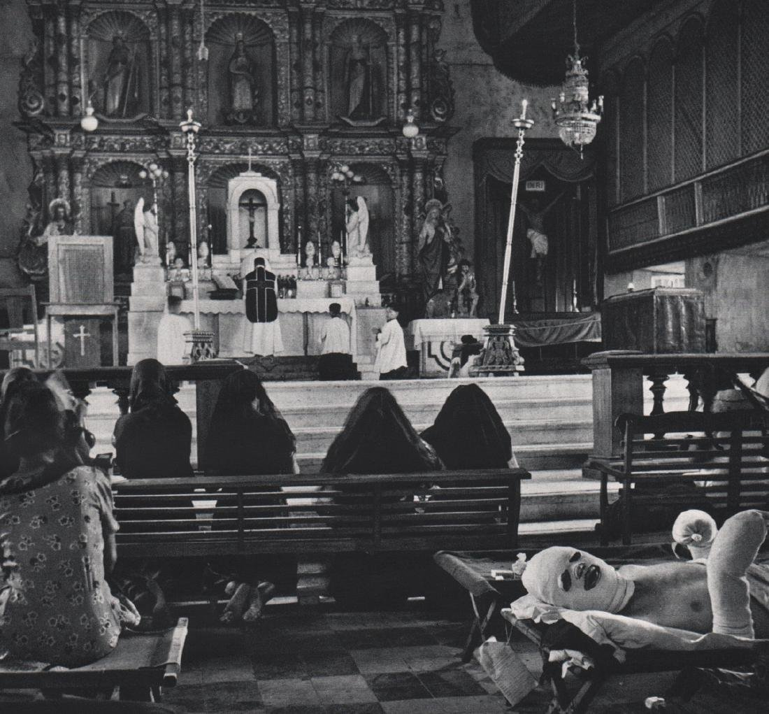 W. EUGENE SMITH - Mass, Leyte Cathedral