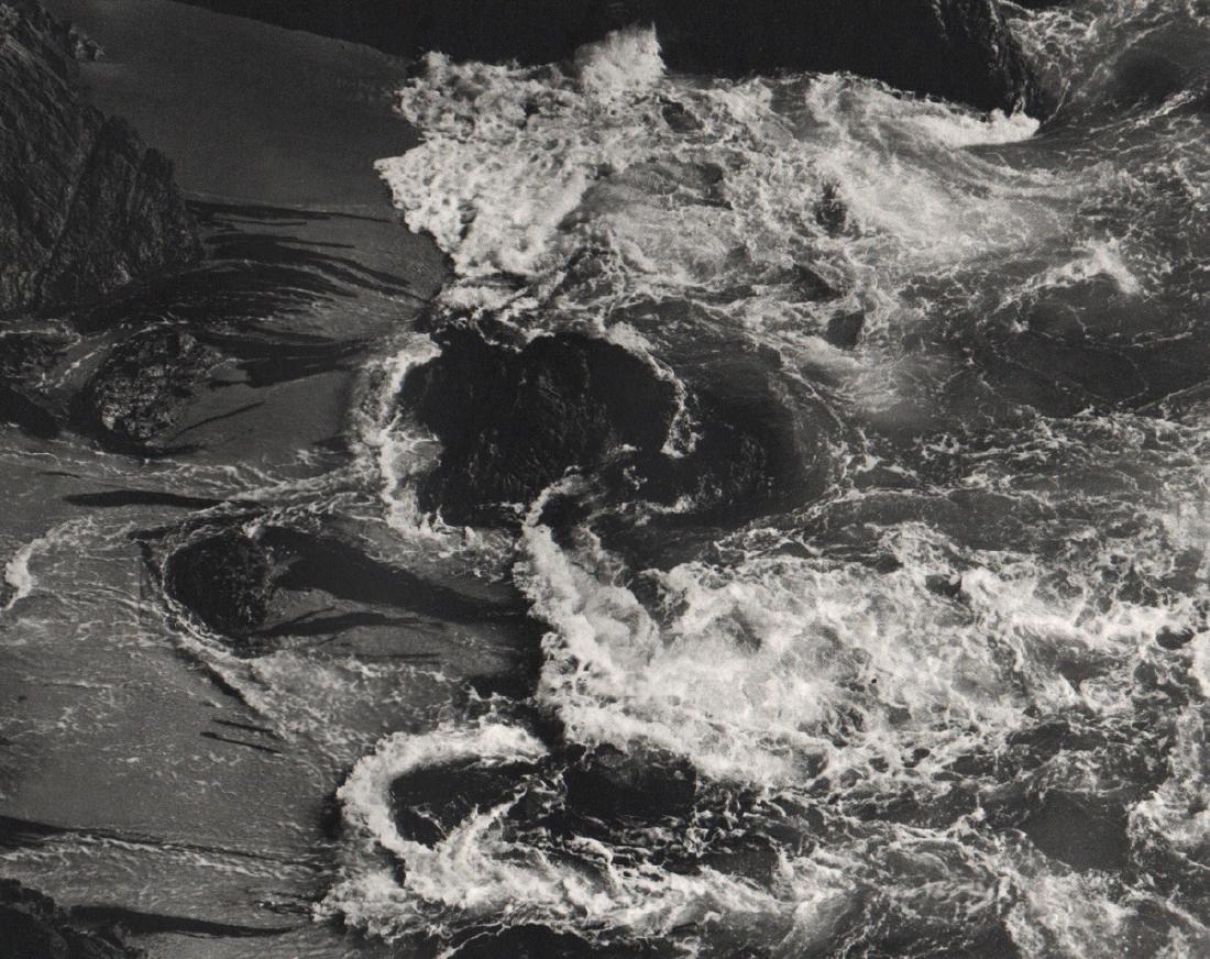 EDWARD WESTON - Point Lobos Surf