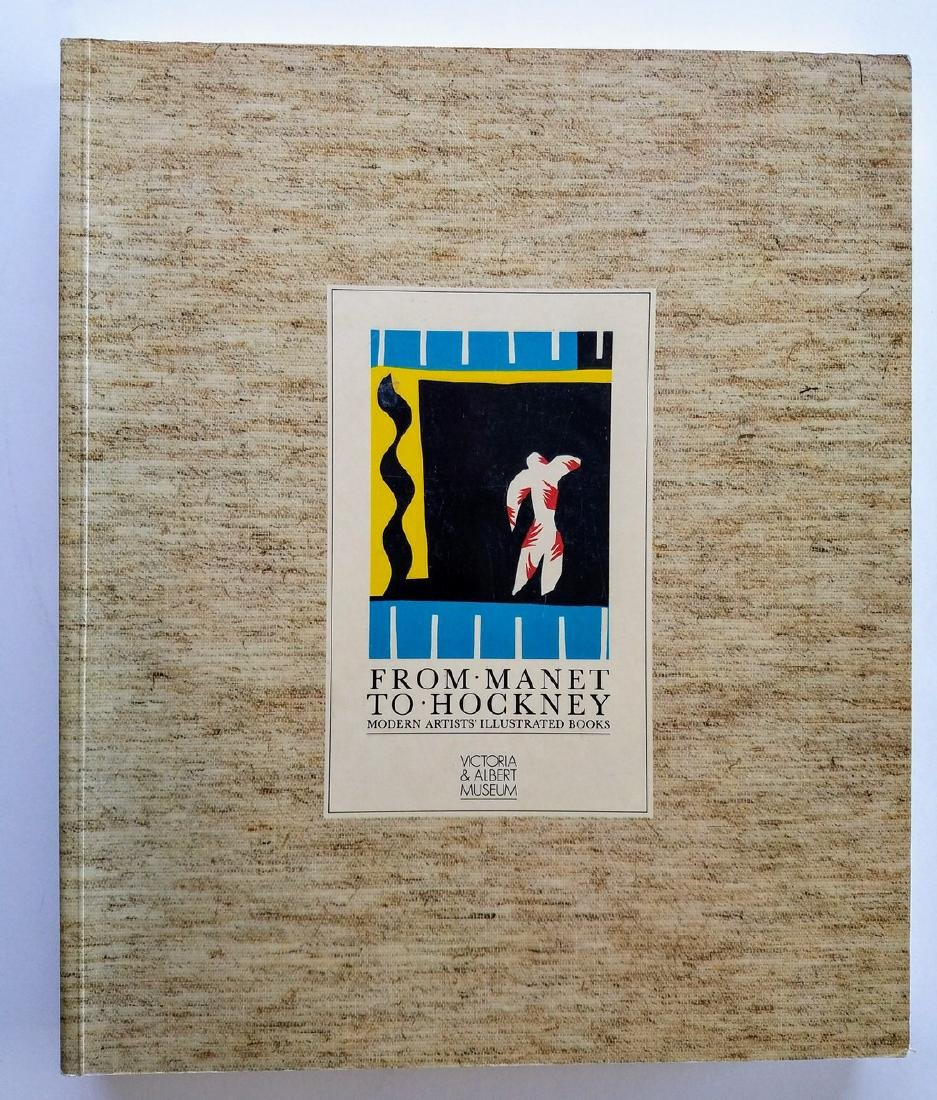 From Manet to Hockney Modern Artists' Illustrated Books