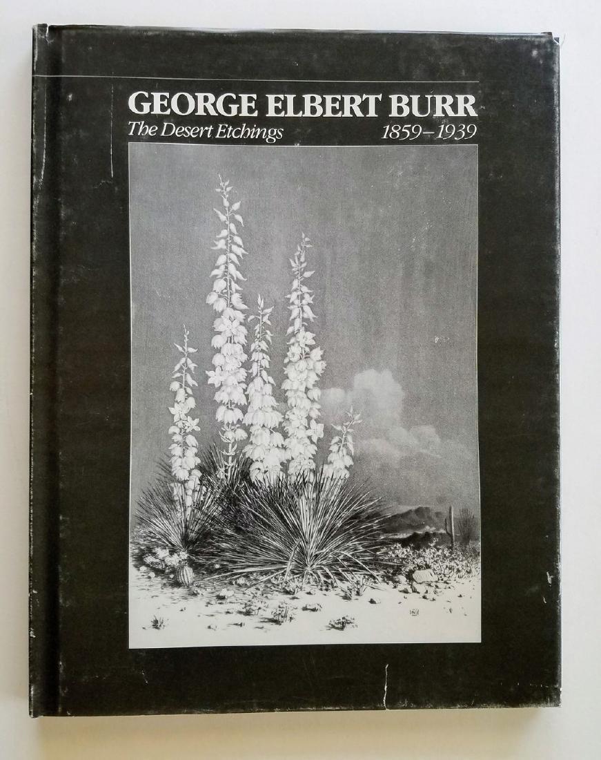 Special Numbered Ed George Elbert Burr Desert Etchings
