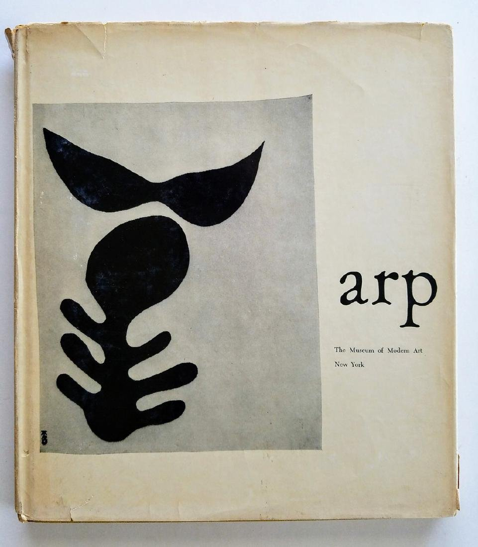 Arp. Edited with an introduction by James Thrall Soby.