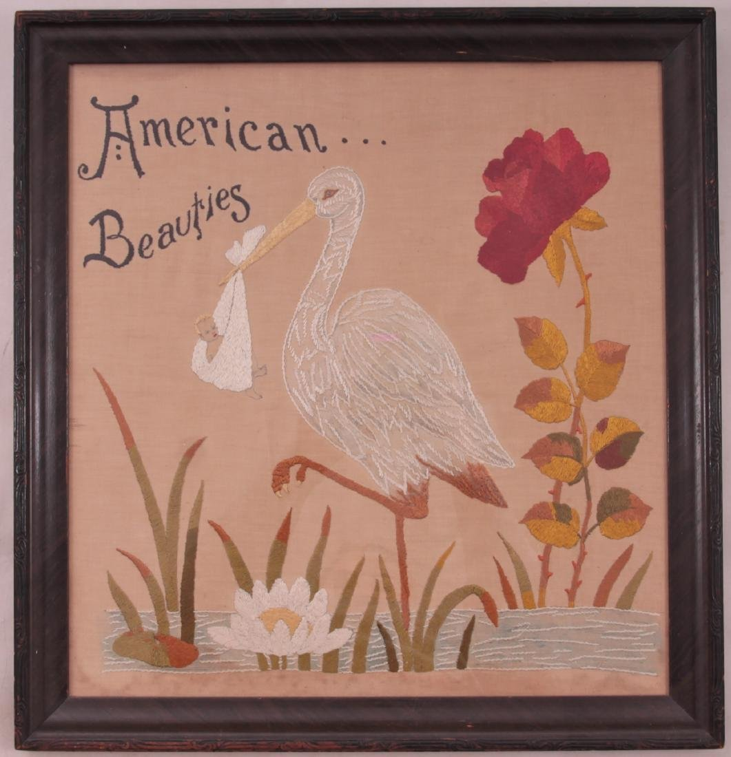 American Beauties Embroidery