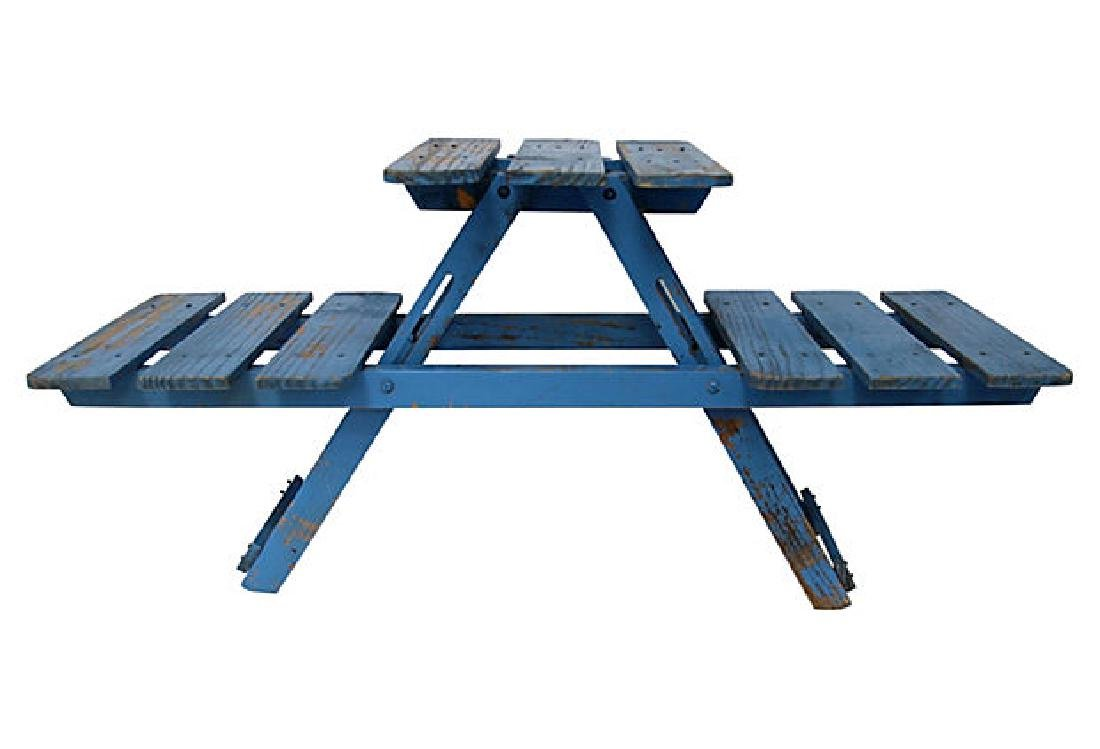 Blue Folding Stand - 3