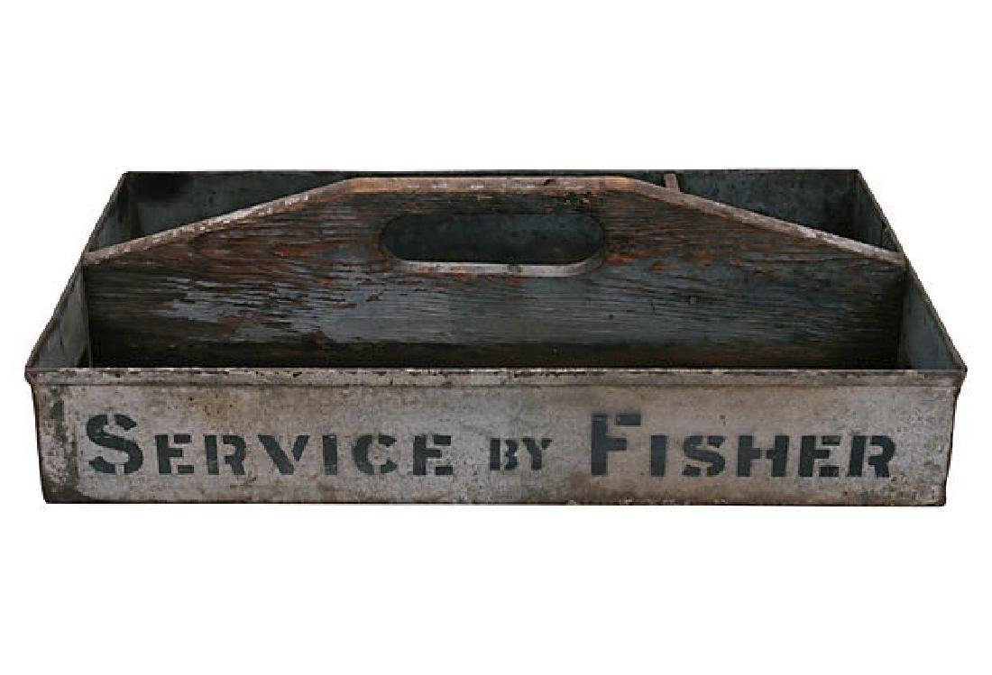 Vintage Metal Service by Fisher Carrier