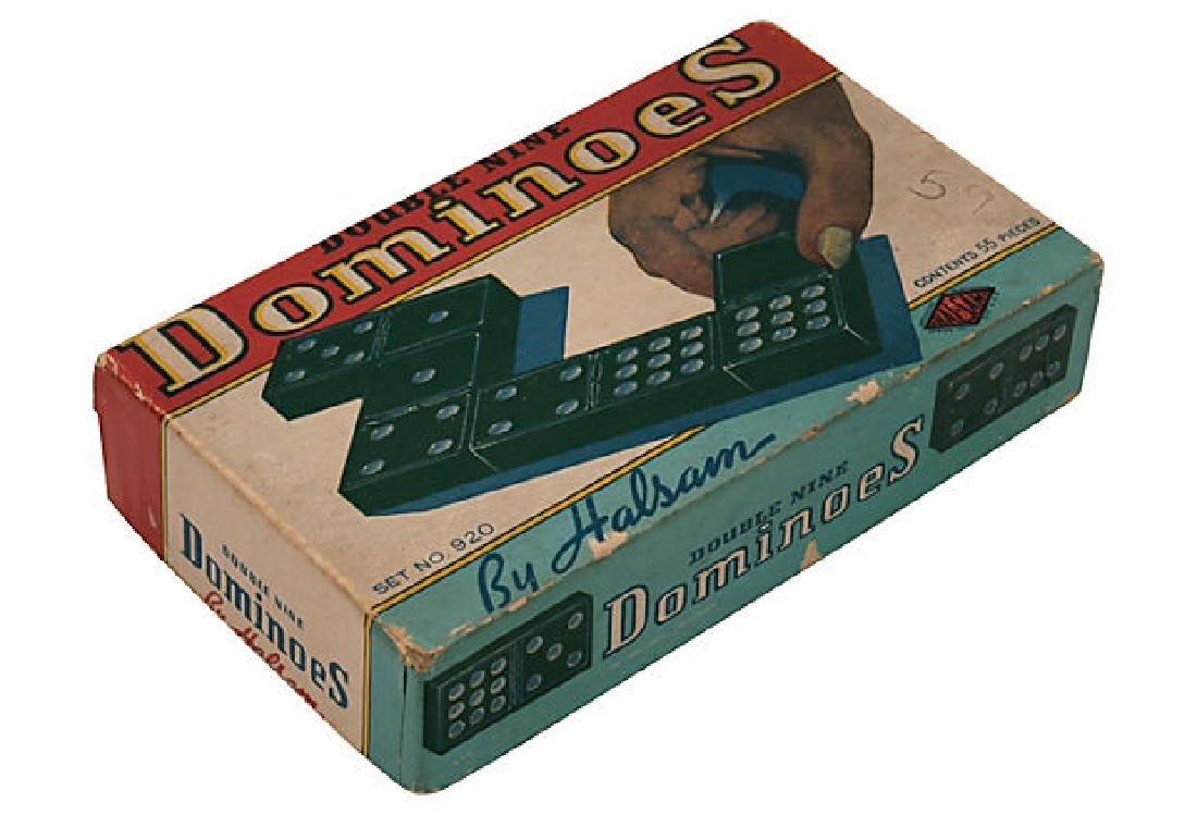 Vintage 55 Dominoes in original box