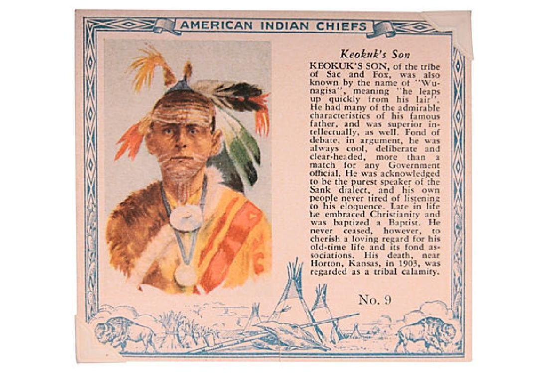 Chief Tobacco Cards - 2