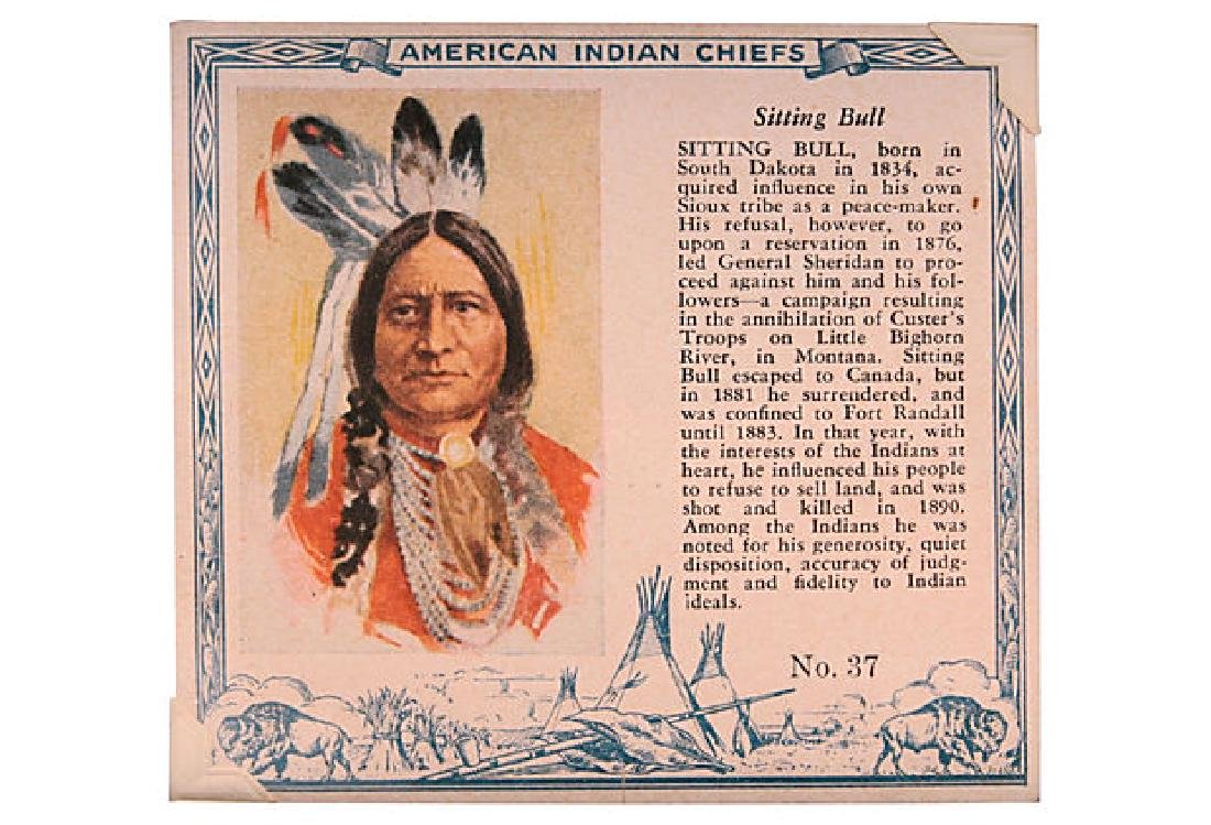 Chief Tobacco Cards - 3