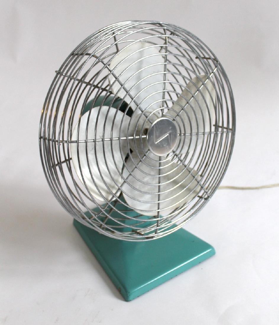 Turquoise Fan