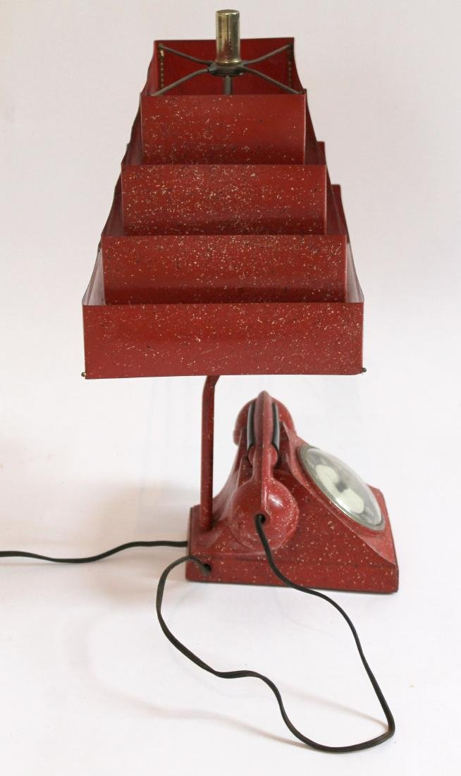 Telephone Lamp/Clock/Lighter - 3
