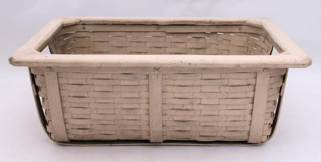 Vintage White Basket