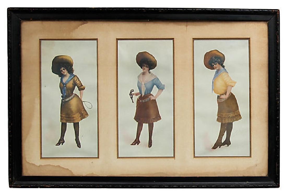 Annie Oakley H.M. Pollock Prints