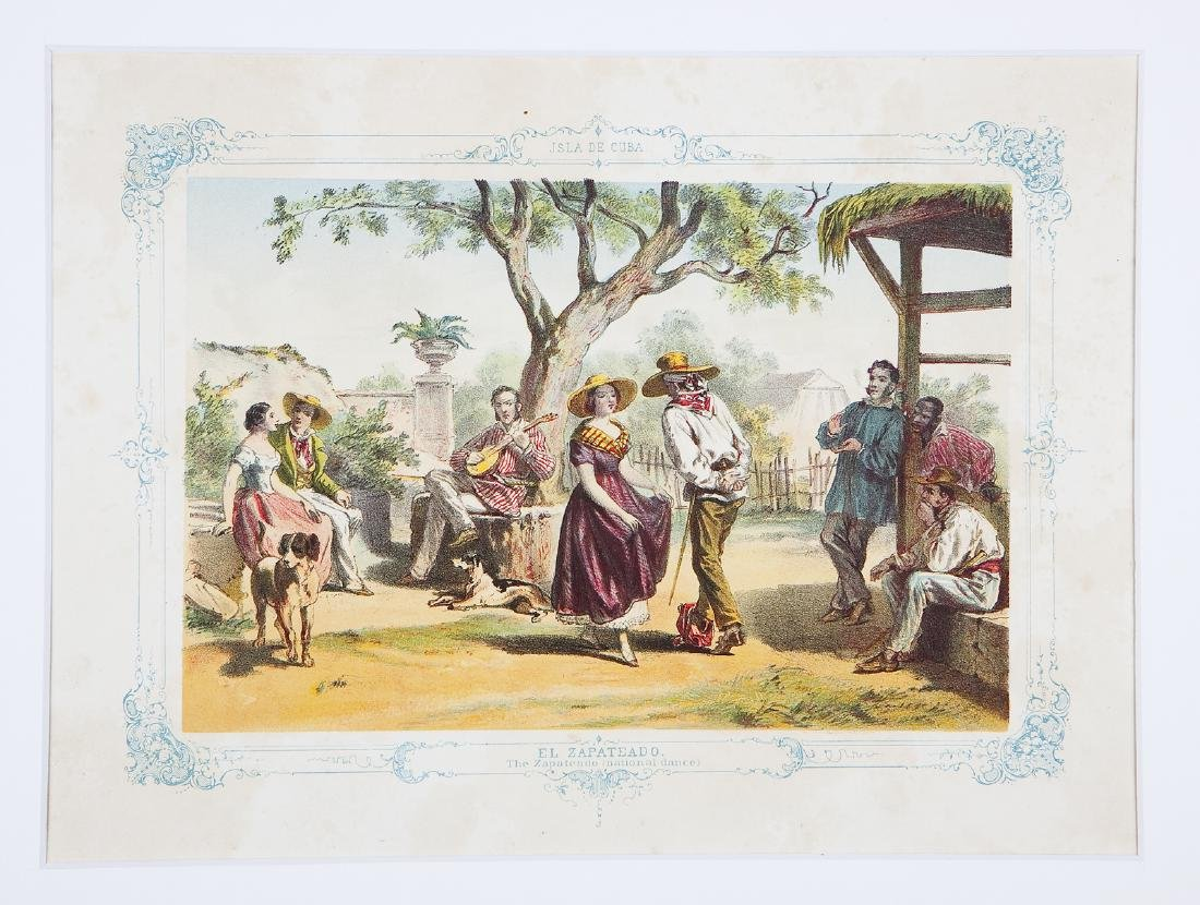 Miahle: Country Dance Scene, Cuba, 1850