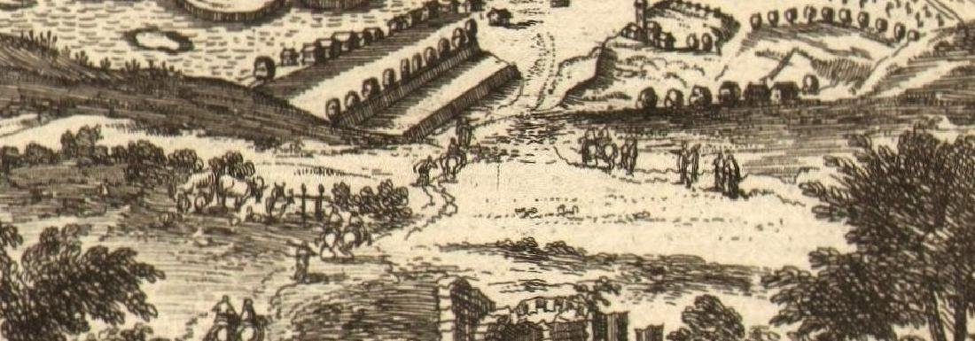 Mallet: Antique View of Prague, 1683 - 2