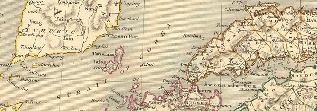 Tallis/Rapkin: Antique Map of Japan & Korea, 1851 - 2
