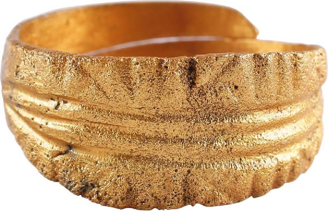 VIKING WARRIOR'S RING C.850-1000 AD