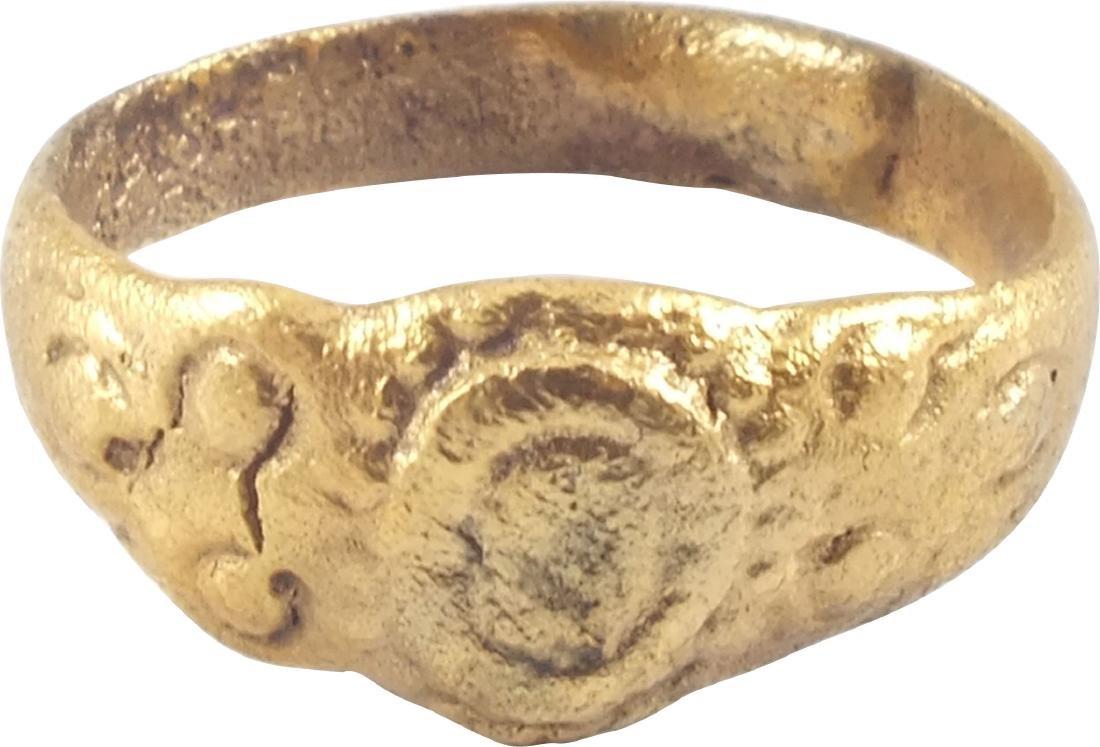 ENGLISH TUDOR WEDDING RING 16TH CENTURY