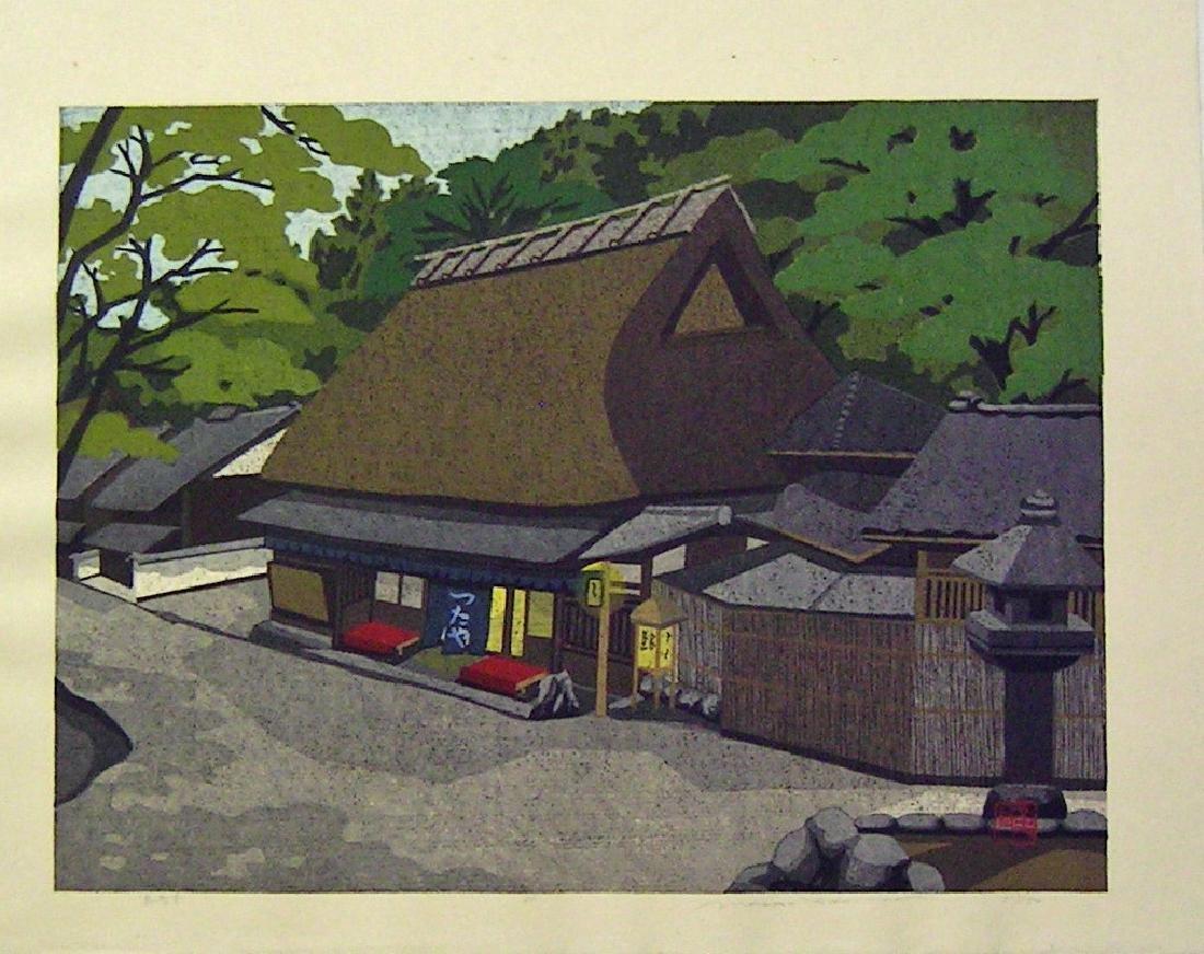 Masao Ido Limited Edition Woodblock Maruyama