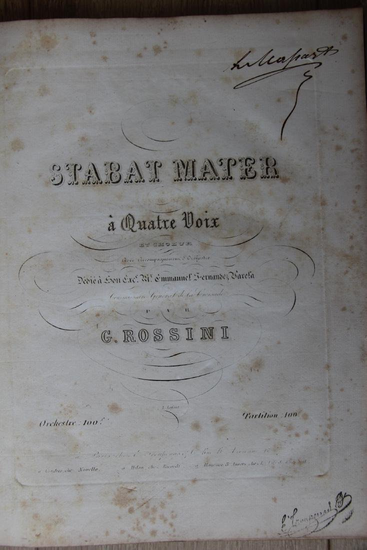 Stabat Mater a Quatre Voix by Gioachino Rossini 1820