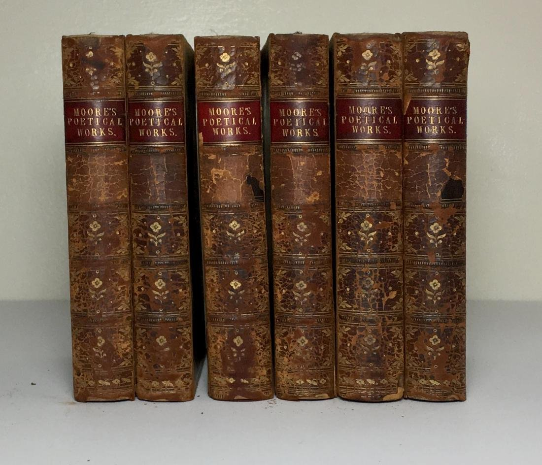 The Poetical Works, 6 volumes Thomas Moore 1869