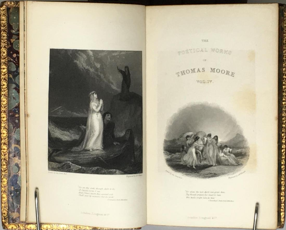 The Poetical Works, 6 volumes Thomas Moore 1869 - 4