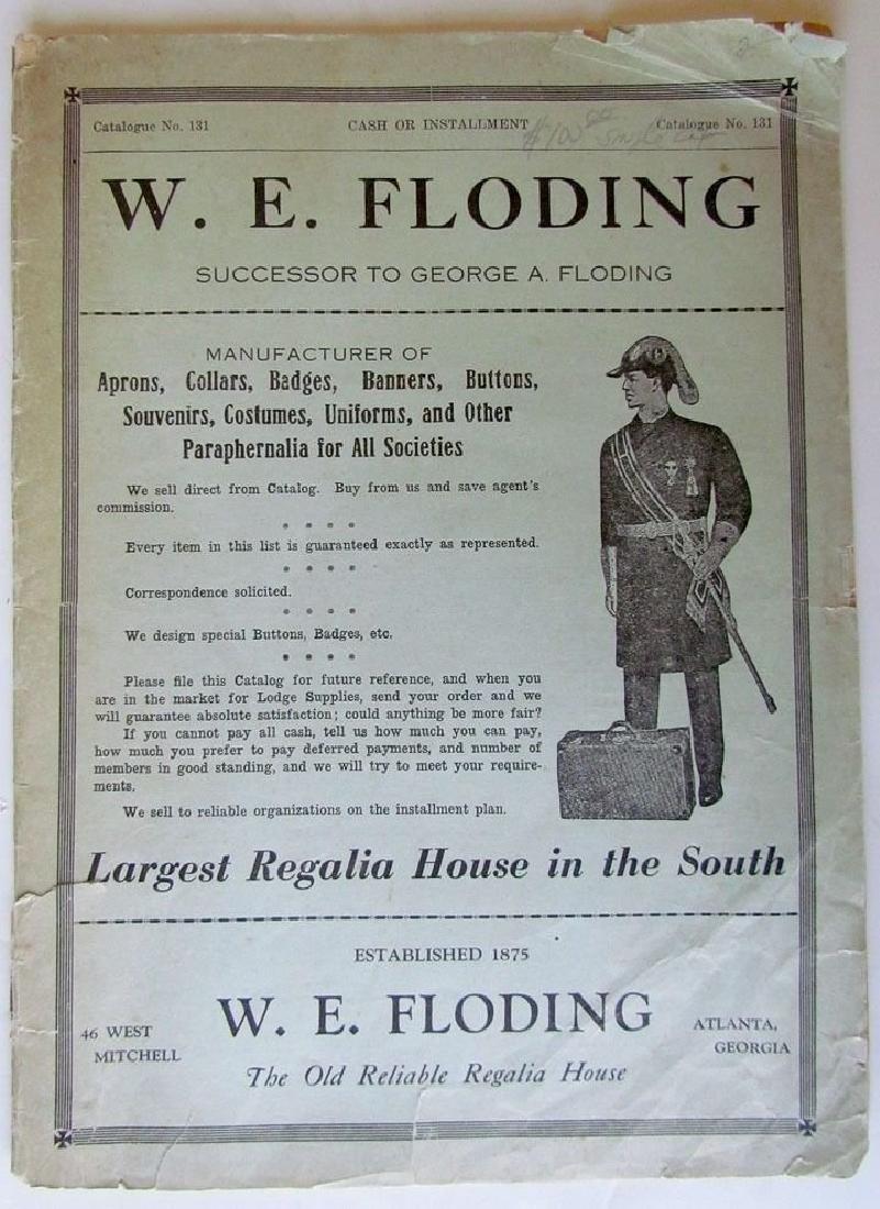 W.E. Floding & Co Fraternal Masonic Regalia Uniforms