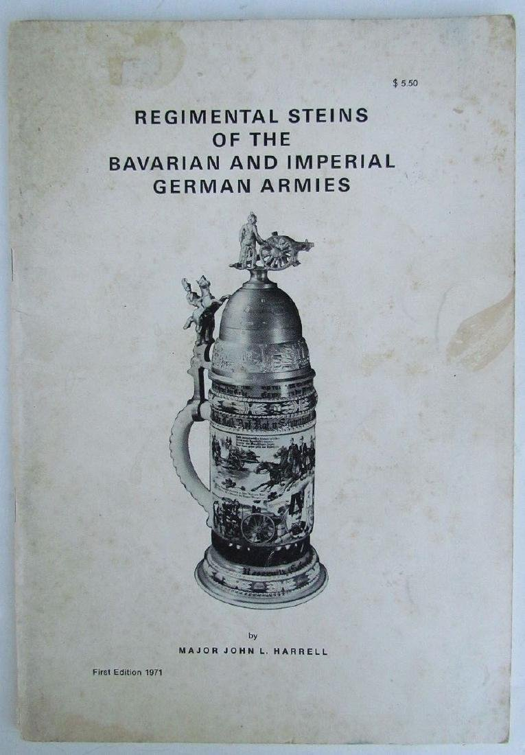 Regimental Steins Bavarian Imperial German Armies 1971