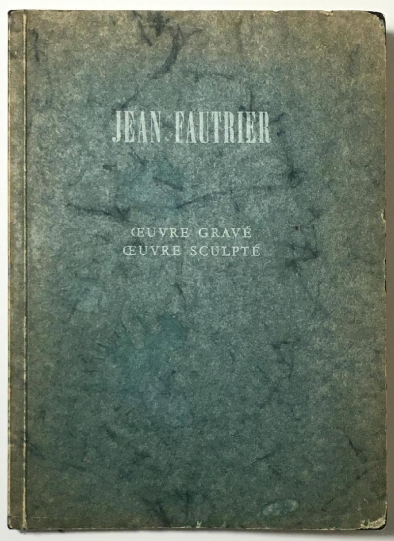 Jean Fautrier, Oeuvre Gravé, Oeuvre Sculpté 1969