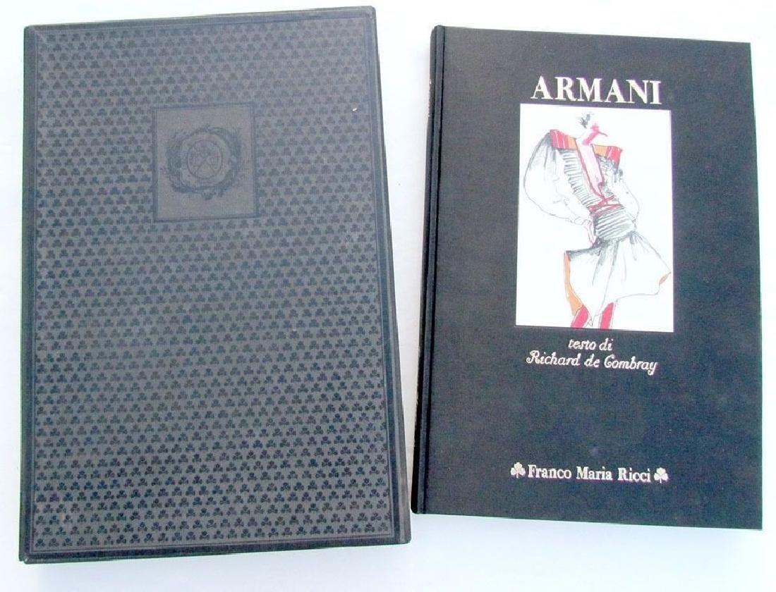 Armani Italian Art Album W/ Slip Case 1982
