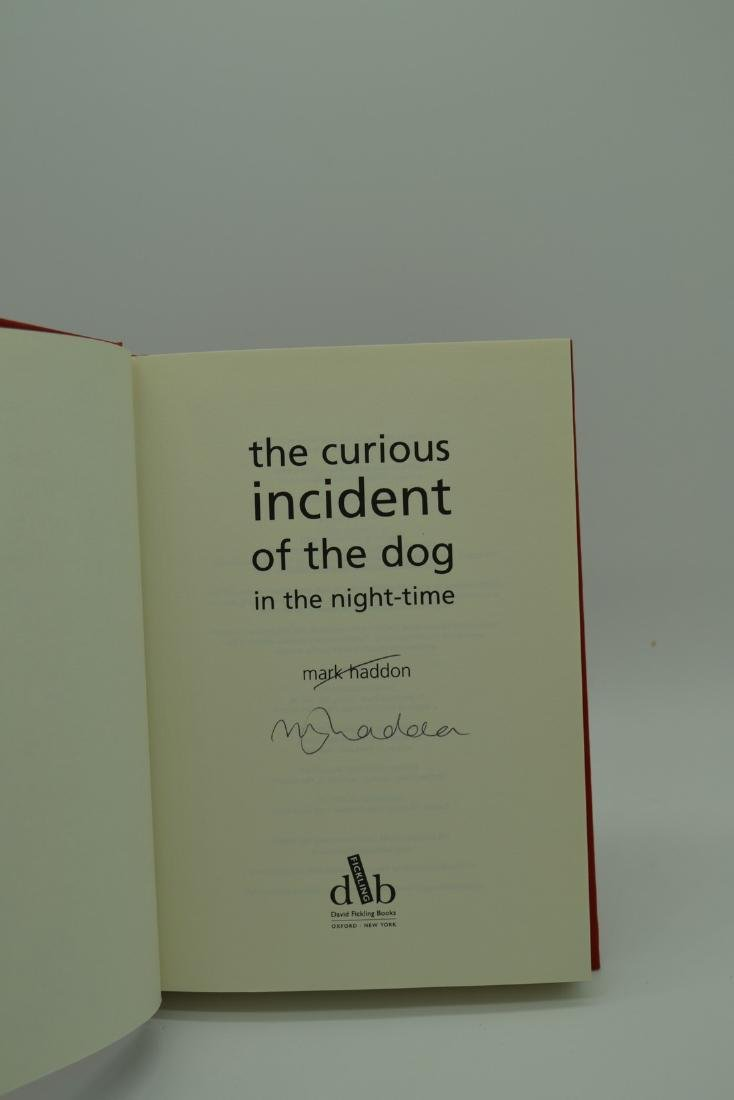 Curious Incident Dog in the Night-Time 2003 First Print - 3