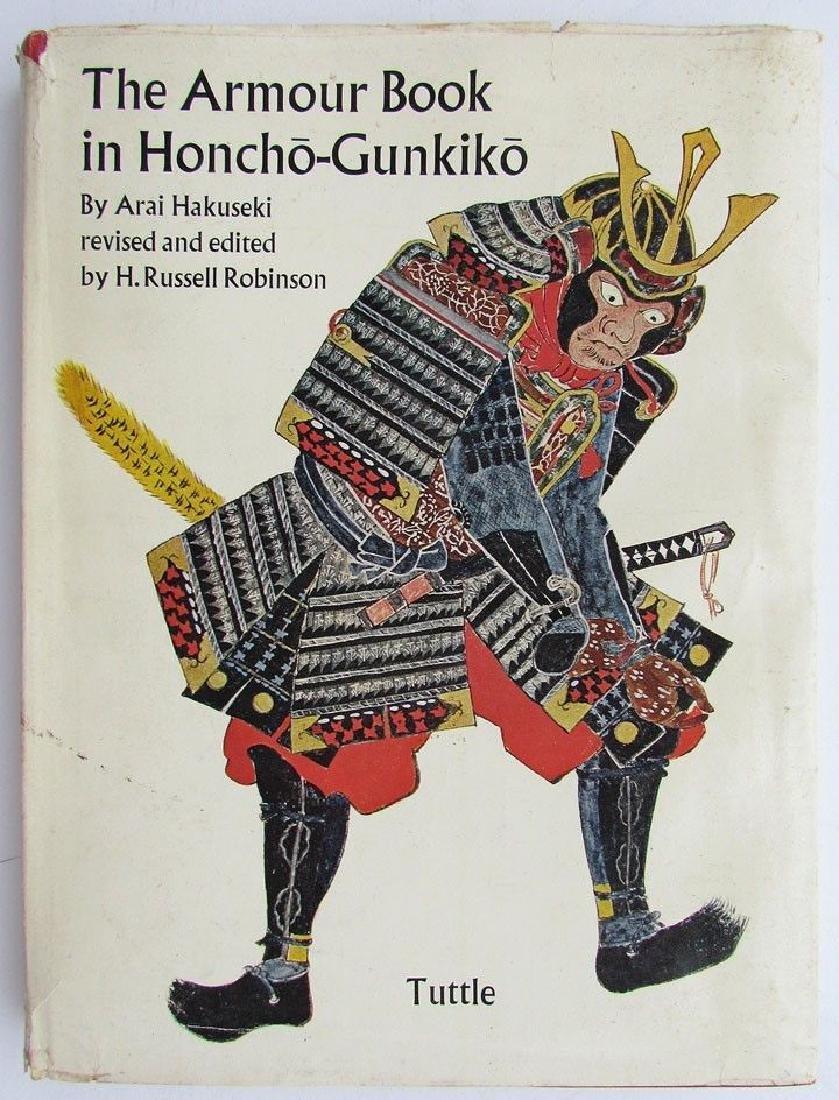 Japanese Armour Armor Book in Honcho-gunkiko by Arai