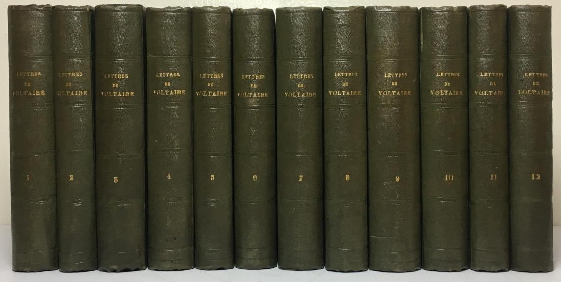 Recueil des Lettres de M. Voltaire 12 Volumes 1785