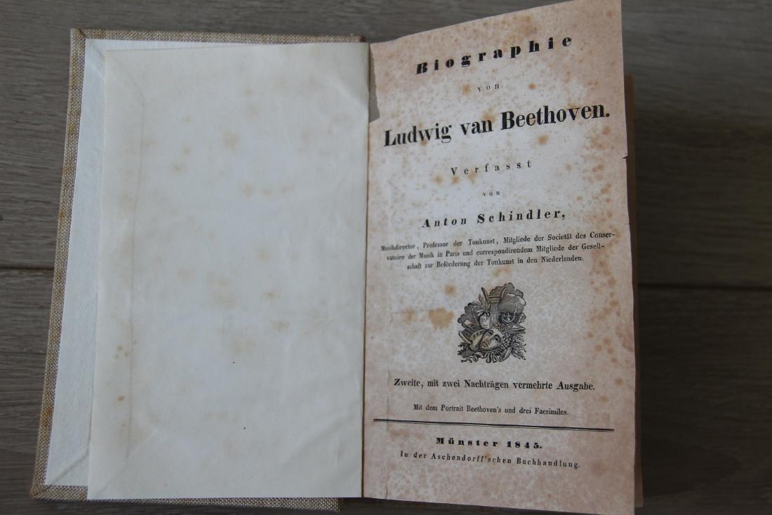 Biography von Ludwig Van Beethoven 1845 2nd Edition
