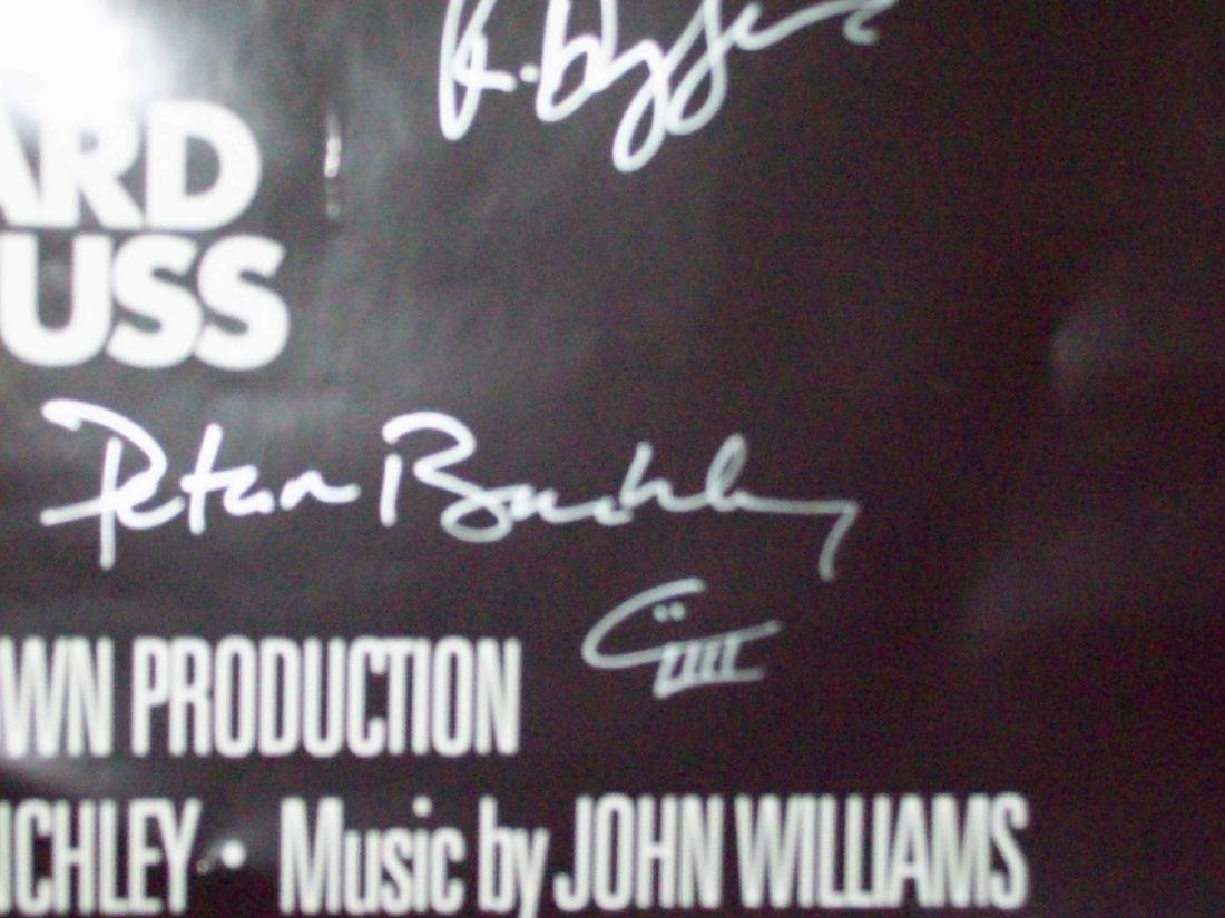 Jaws Signed Poster - 4