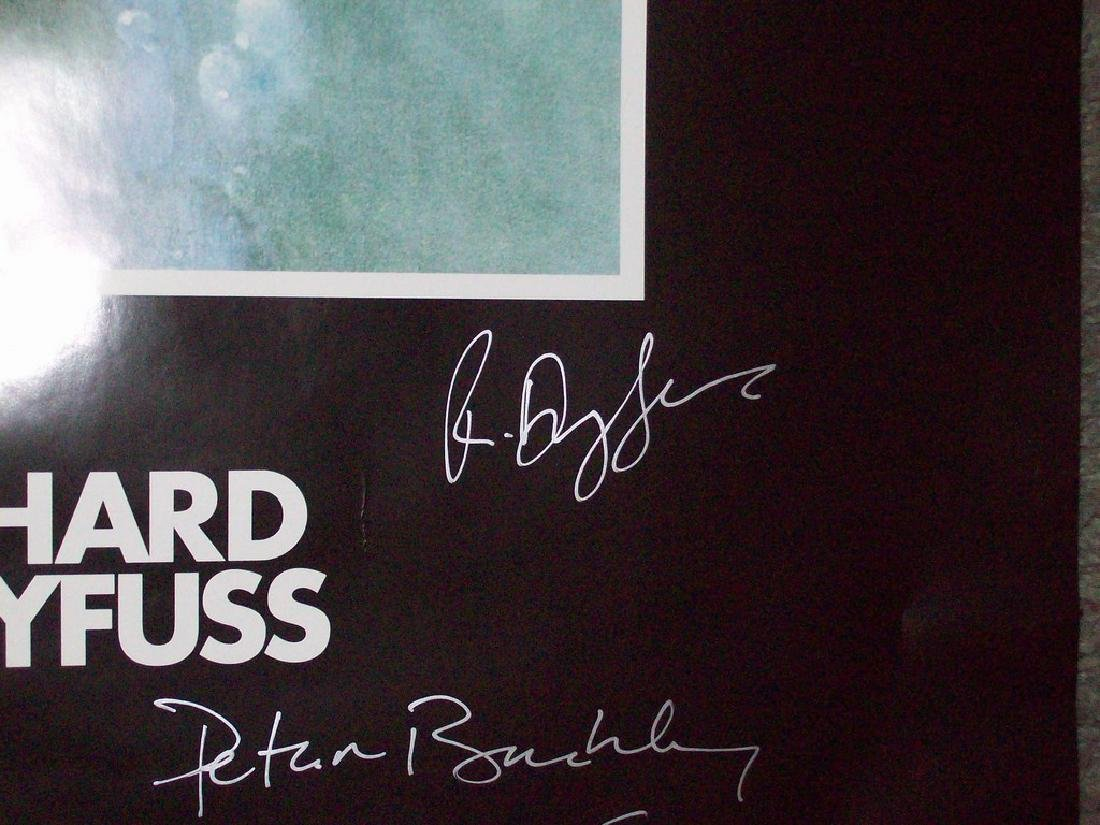 Jaws Signed Poster - 5