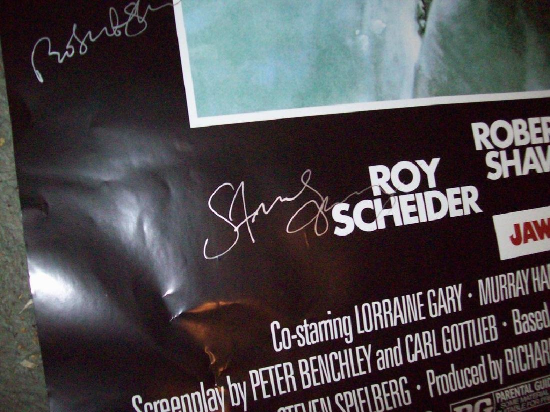 Jaws Signed Poster - 6