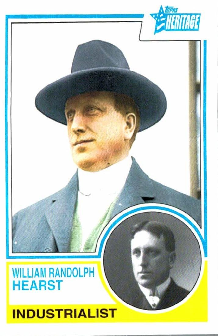 2009 Topps Heritage William Randolph Heast