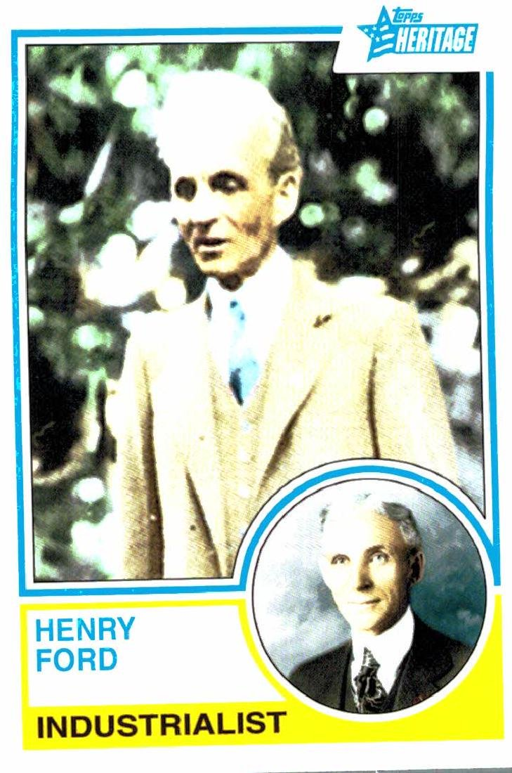 2009 Topps Heritage Henry Ford Industrialist