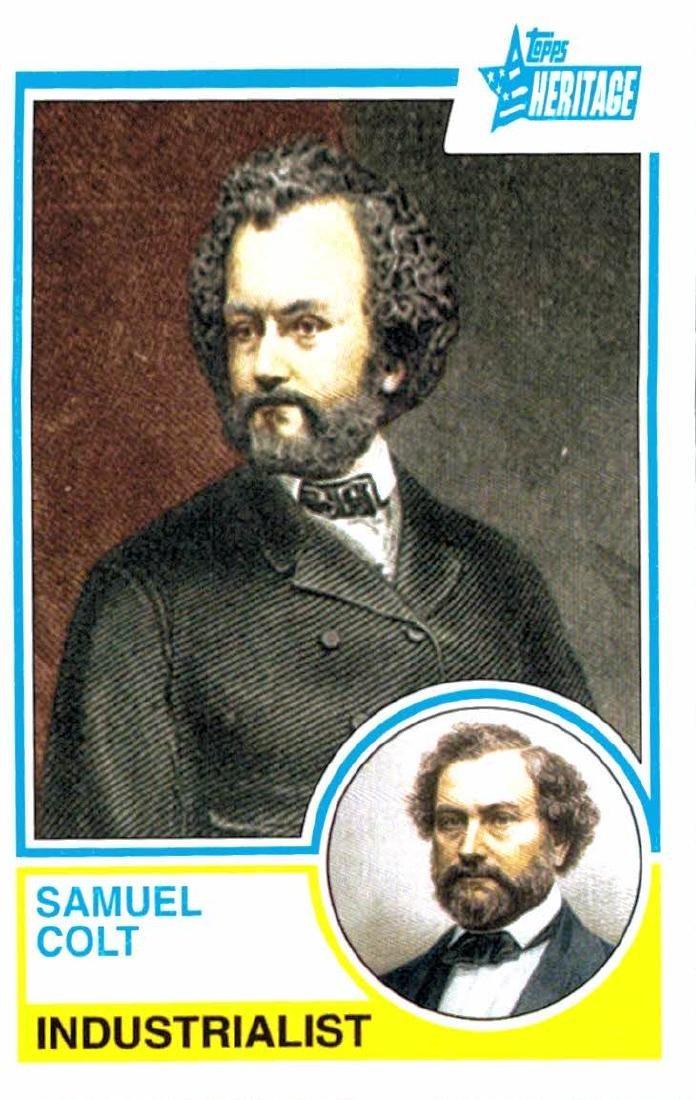 2009 Topps Heritage Samuel Colt Industrialist