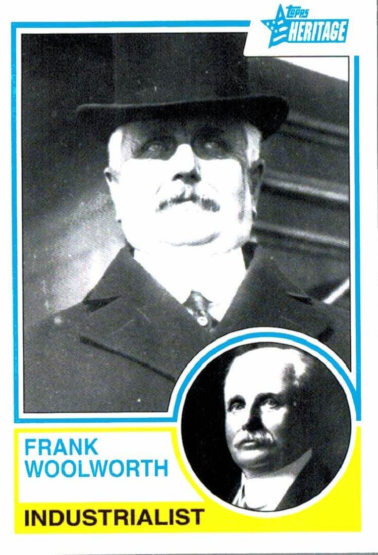 2009 Topps Heriatge Frank Woolworth Industrialist