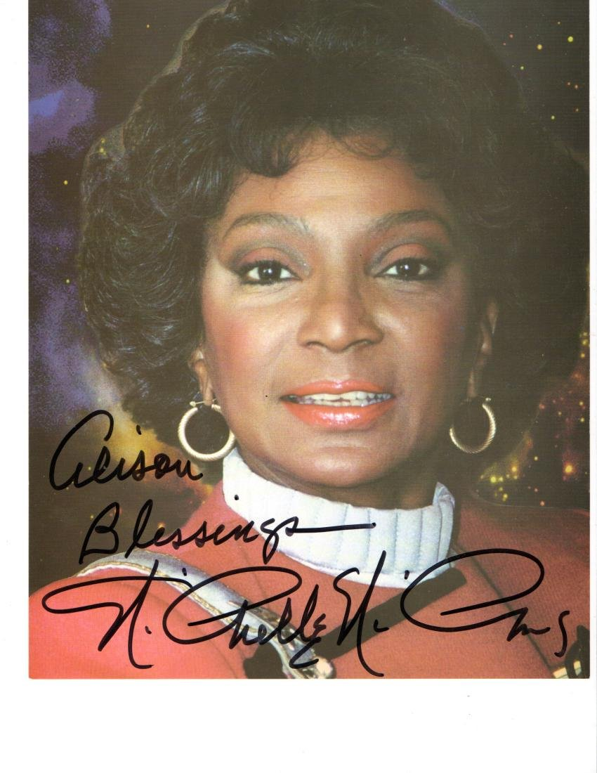 Nichelle Nichols Uhura - Star Trek Autographed Photo