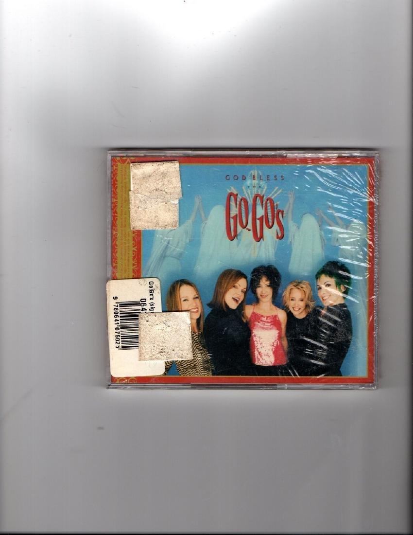 God Bless the Go-Go's Signed CD 2001 - 2
