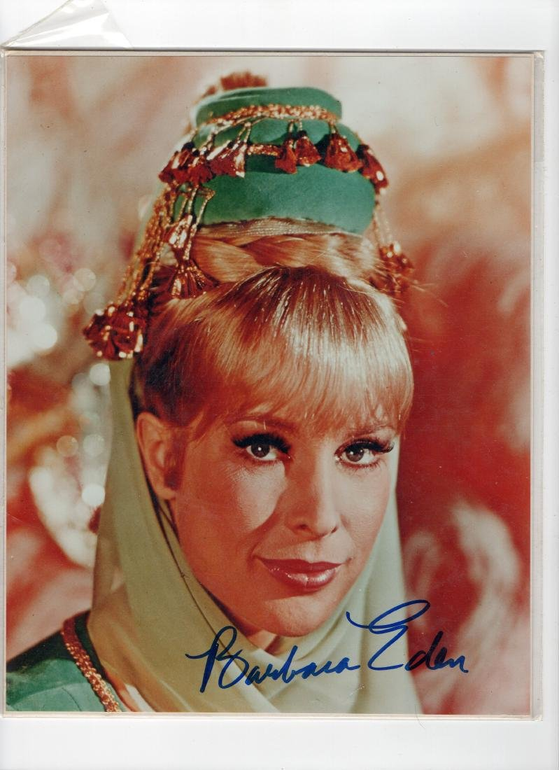 Barbara Eden I Dream of Jeannie Autographed Photo