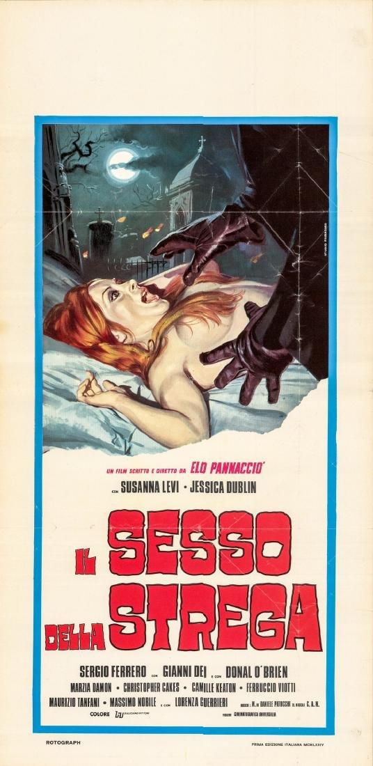 Sex of the Witch 1973 Italian Locandina