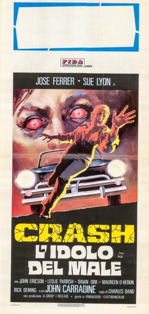 Crash 1976 José Ferrer Italian Locandina