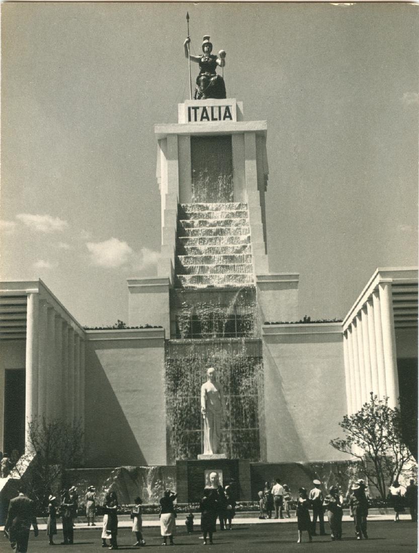 Italian Pavilion 1939 Photograph