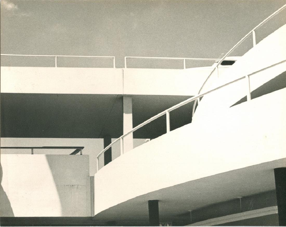 Ford Building Ramp 1939 Photograph
