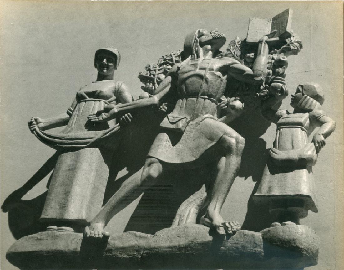 Benevolence Sculpture 1939 Photograph