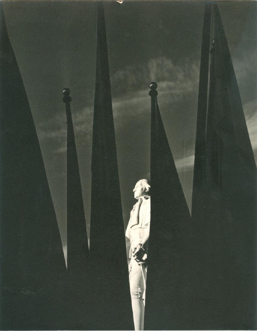 Statue of George Washington 1939 Photograph
