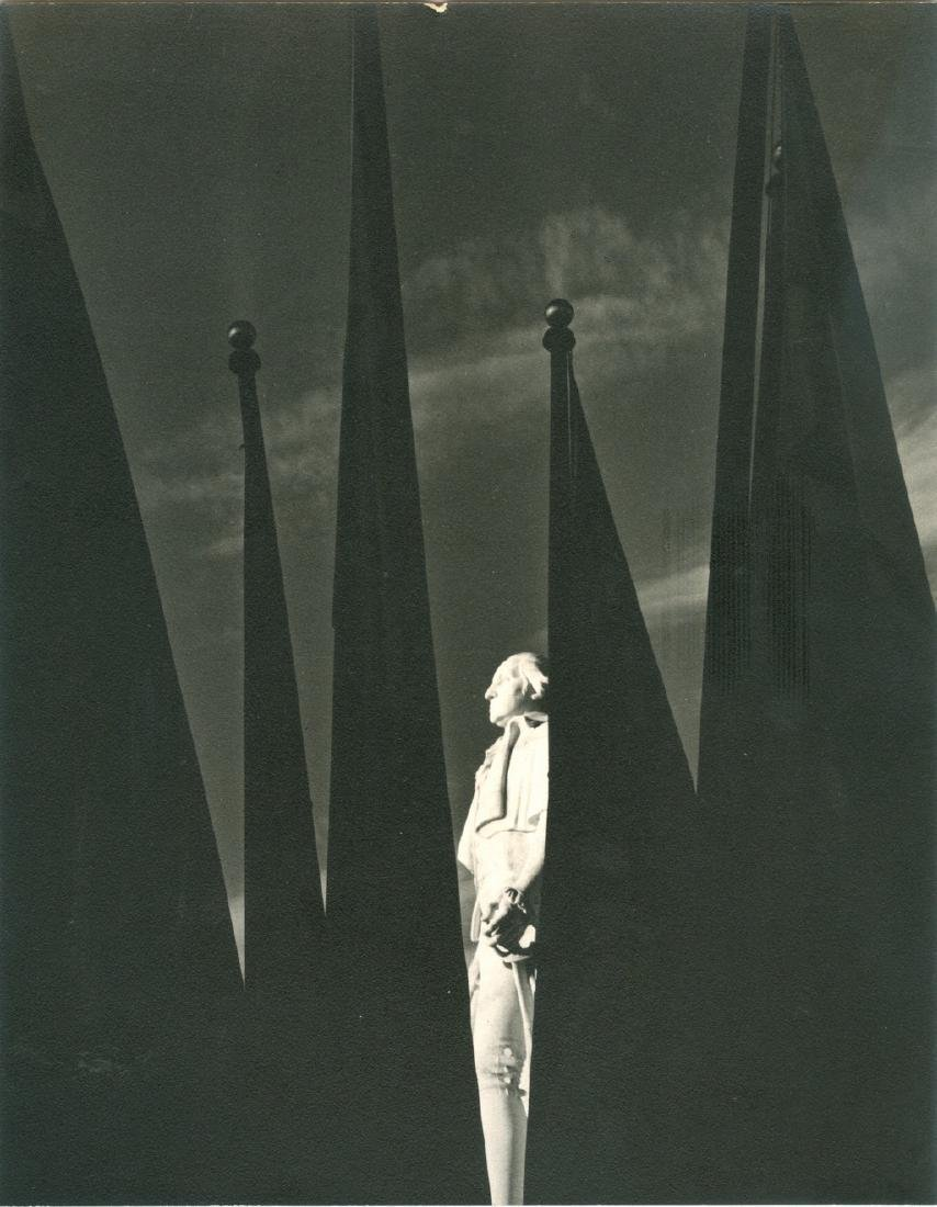 Statue of George Washington 1939 Photograph