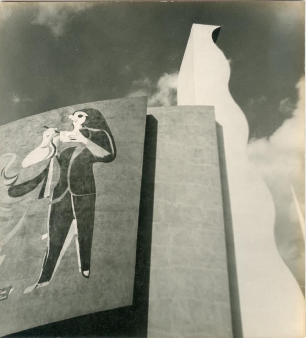 Ford Road of Tomorrow Building 1939 Photograph